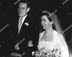 Wedding Mr Michael Heatonarmstrong His Cousin Miss Editorial Stock ...