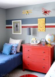 Paint Colors Boys Bedroom How To Make Three Paint Colors Work In A Room Boys Planes And