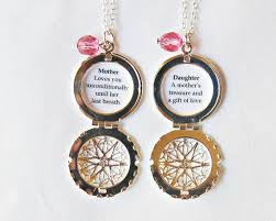 mother daughter necklace set e