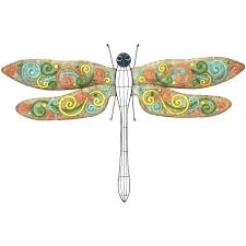 dragonfly metal wall art medium image for good luck decor d