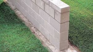 Seating Wall Blocks Building A Block Wall Youtube