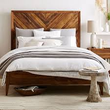Alexa Reclaimed Wood Bed