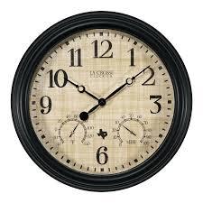 indoor outdoor wall clocks slate indoor outdoor wall clock