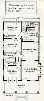 mail floorplan. 1926 Standard House Plans: The Oakdale Mail Floorplan O