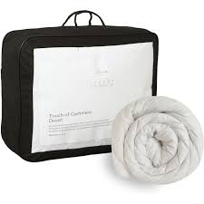 hotel collection touch of cashmere duvet 13 5 tog double