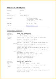 Resume Cv Cover Letter Best 25 Basic Resume Format Ideas On