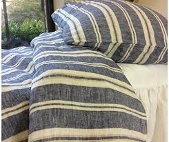 navy duvet covers striped bedding