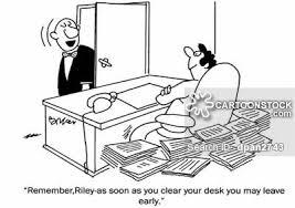 tidy office. Tidy Desk Cartoon 12 Of 14 Tidy Office