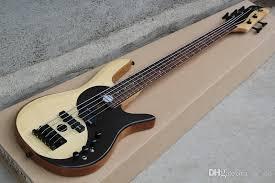 custom rare bass yin yang natural 5 strings electric bass guitar alder emg active pickups chinese diagram of the universe mop inlay