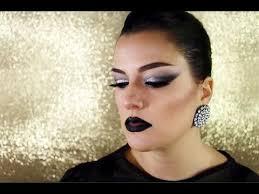 trucco dark chic punk makeup tutorial ita