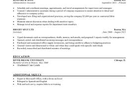 Cosmetology Resume Templates Resumesample Resume Template Free