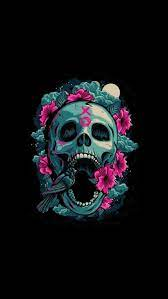 Abstract Skull Cool iPhone Wallpapers ...