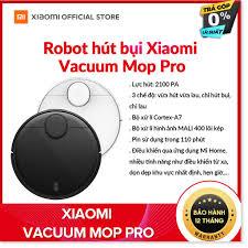 Robot hút bụi lau nhà thông minh Xiaomi Mi Vacuum Mop P - Cảm biến Laser  LDS, Điều khiển bằng ứng dụng, công nghệ AI, Hỗ