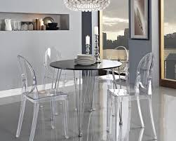 Acrylic Chairs Unique Dining Room Tables Dining Room Furniture
