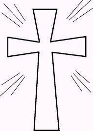 cross pictures to color. Contemporary Cross Cross Coloring Page  Clipart Library Intended Pictures To Color C