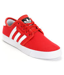 adidas red shoes. adidas seeley red canvas shoes