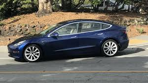 tesla new car releaseTesla Model 3 great new highres look at blue release candidate