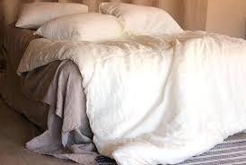 image 0 washed linen duvet cover set hm stone ivory off white