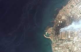 صور فضائية.. تسرب نفطي بمساحة مدينة نيويورك.. من سوريا إلى قبرص - RT Arabic