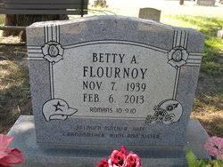 Betty Ann Flournoy (1939-2013) - Find A Grave Memorial