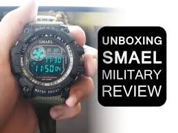 <b>Smael</b> Sport Military <b>Digital Watch</b> Unboxing - YouTube