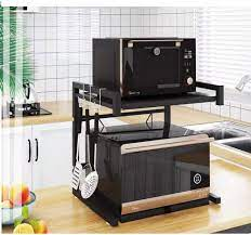 Genişletilebilir Metal Mikrodalga Fırın Rafı Raf Mutfak Malzemeleri Sofra  Depolama Karbon Çelik Tezgah Pirinç Ocak Standı - Buy Mikrodalga Fırın Rafı,Genişletilebilir  Fırın Rafı,Mikrodalga Fırın Rafı Product on Alibaba.com