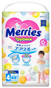 <b>Merries трусики</b> L (9-14 кг) 44 шт. — купить по выгодной цене на ...