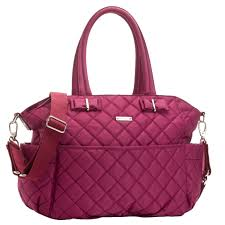 TEMPORARILY OUT OF STOCK Storksak Bobby Quilted Diaper Bag And ... & TEMPORARILY OUT OF STOCK Storksak Bobby Quilted Diaper Bag And Tote Set -  Magenta Adamdwight.com