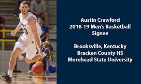 Shawnee State University - Men's Basketball signs Austin Crawford