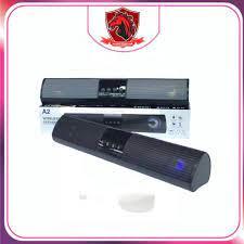 Loa bluetooth A2 hỗ trợ thẻ nhớ,đài FM,USB,BT,AUX 3.5 kiểu dáng sang trọng  âm thanh chuẩn speaker 5.0 - Loa Bluetooth