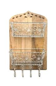 wire basket with hooks wall mounted wire basket with hooks x x 20 wire basket with hooks