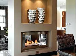 two sided gas fireplace attractive what s the costs of pertaining to 8 furniture two sided gas fireplace brilliant indoor outdoor