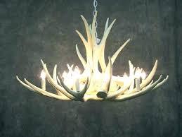 faux deer antlers antler chandelier for deer chandelier chandelier faux deer antler and ceiling light faux deer antlers