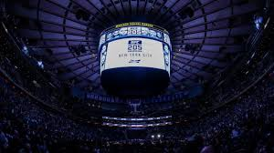 a general view of madison square garden during