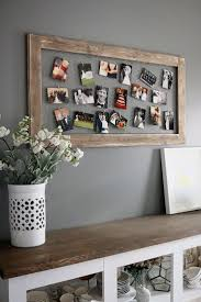 how to display photographs in a unique diy picture frame display unique and craft