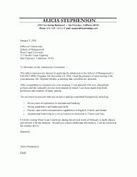 Resume For Graduate School Mba Cover Letter Template - Sample Professional Letter Formats