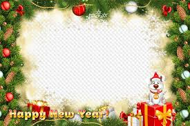 new year free photo frame png psd