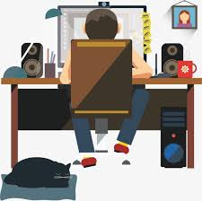 free home office. Home Office Designer, Male, Designers, Black Cat PNG And Vector Free I