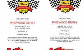 Bsa Pinewood Derby Templates Beautiful Free Pinewood Derby Car ...