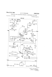 patent us3083358 detecting and indicating apparatus gamewell masterbox at Fire Alarm Master Box Wiring Diagram
