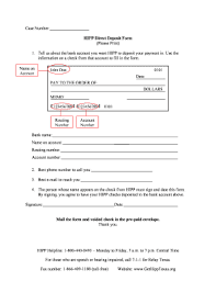 Miami Dade County Direct Deposit Form - Fill Online, Printable ...