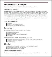 Receptionist Job Duties Resume. Sample Registered Nurse Resume ...