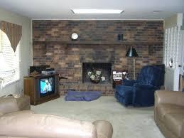 painting interior brick painting fireplace brick painting interior brick walls ideas