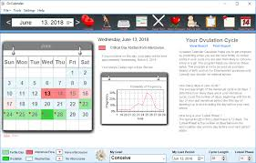 Ovulation Calendar Pregnancy Calculator Calendars Office