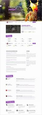 Responsive Resume Template Free Download New How To Write A Resume