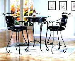 small bistro table set small round bistro table and chairs round pub table sets kitchen pub