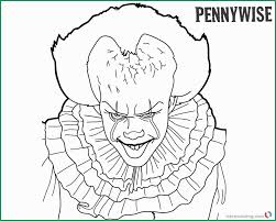 Pennywise The Clown Coloring Pages Admirably Pennywise Coloring