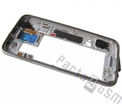 Samsung G900F Galaxy S5 Middle Cover Black GH96 07236B Parts4GSM