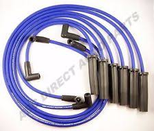gm car truck ignition wires for chevrolet lumina gm 8 mm blue mag spiral core spark plug ignition wire set m6 48308 fits chevrolet lumina