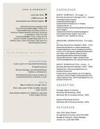 Gallery Of Free Resume Templates For Architects 5